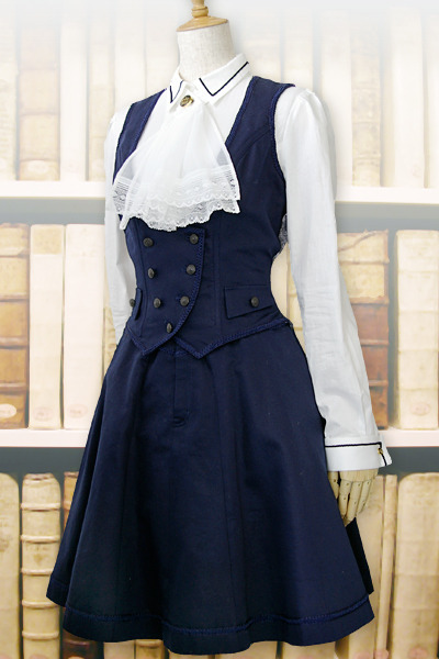allurious:  some of excentrique's summer '11 collection; the librarian.