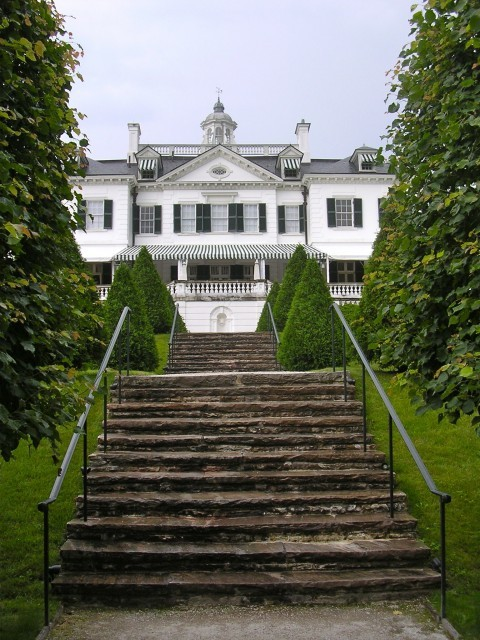 Edith Wharton's home The Mount Gardens and Grounds (via traditional - landscape - other metros)