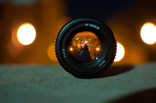Lovely photo of Nikon Lens.