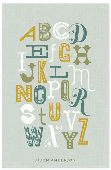 robynsmorgue:  (via notebooks - Alphabet at Minted.com)