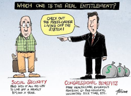 Which One Is The Real Entitlement?