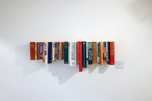 BookBook shelf (via not tom.)