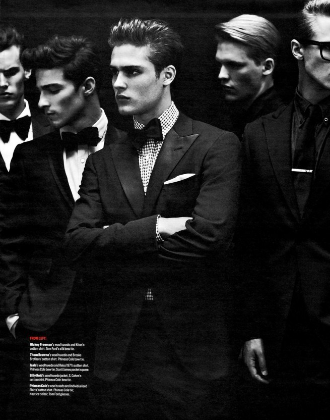 mensfashionworld:  Amaury Baudoin, Andreas, Brian Shimansky, Henry Barnacle, Jacques Naude, Jason Wilder, Kenzie Roth, Ryan Smith and Tim Devos by Blair Getz Mezibov for Menswear