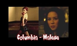 "Columbia ==> Malese Jow A groupie. God, this is canon in both universes xD ""He stared at meAnd I felt a changeTime meant nothingNever would again."""