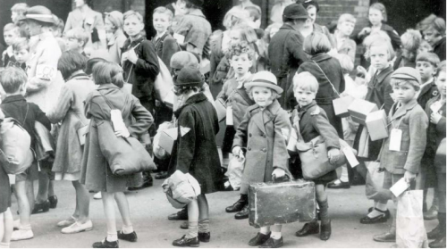 wintersbones:  World War II children evacuees