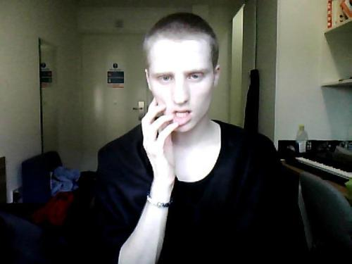 i shaved my head haha