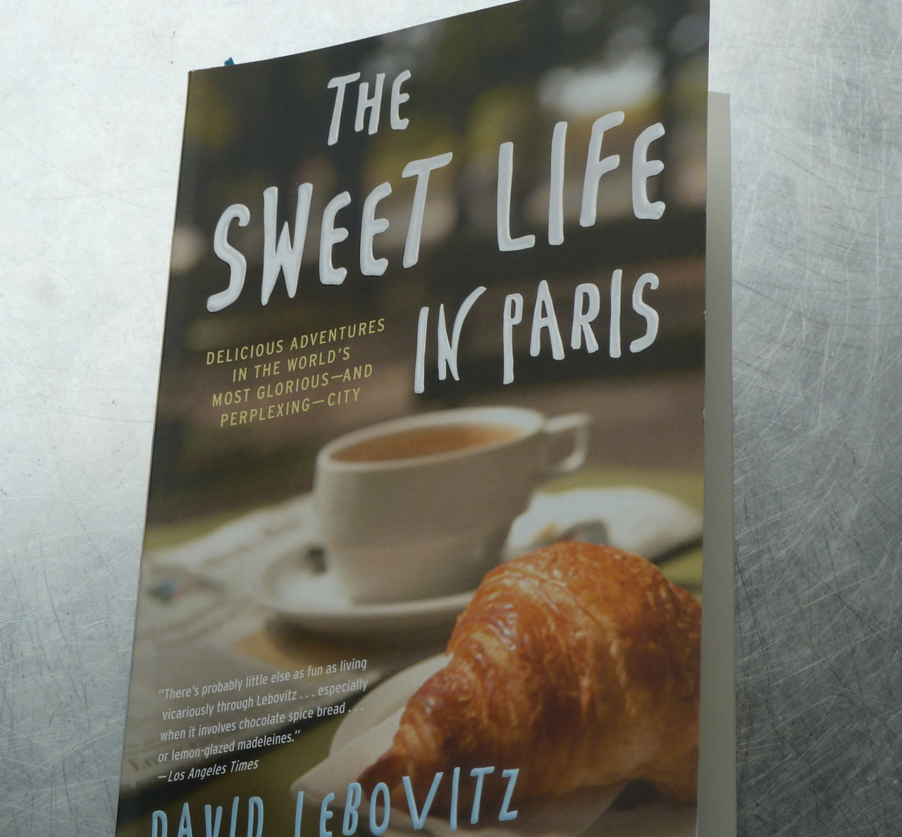 We Heart David Lebovitz! Chef extraordinaire, David Lebovitz, has just released his new book outlining scrumptious Parisian findings and food for thought. Like him, we always have room for dessert.  Available now at all three Drake General Stores!