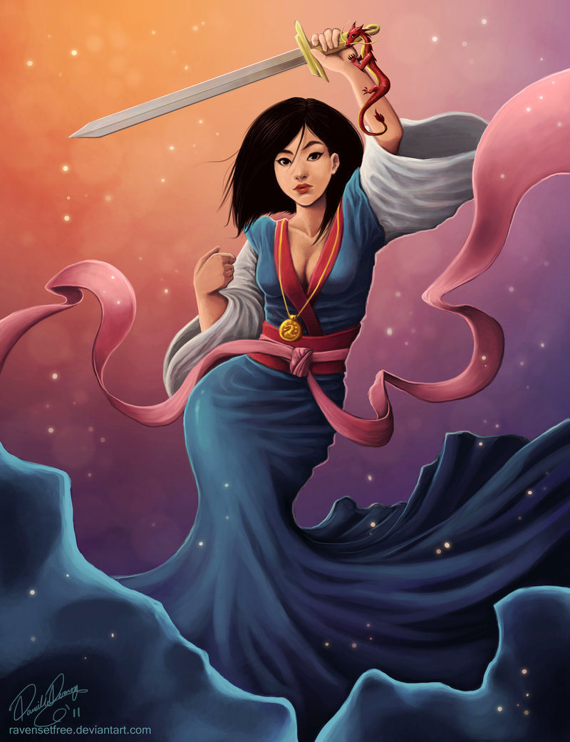 Beautiful Mulan