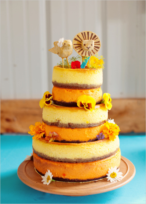 Remember how I said cheesecake wasn't wedding-y? Well, maybe I change my mind. Wanda's is apparently out of business (wah!), so am looking for substitutes! Still heavily considering Italian cream cake, but this is pretty convincing.