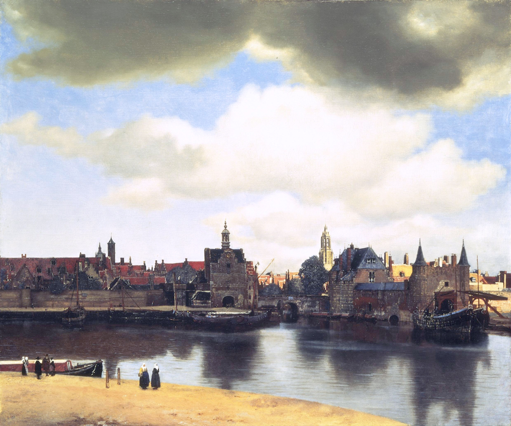 View of Delft (1660–61) | artwork by Johannes Vermeer