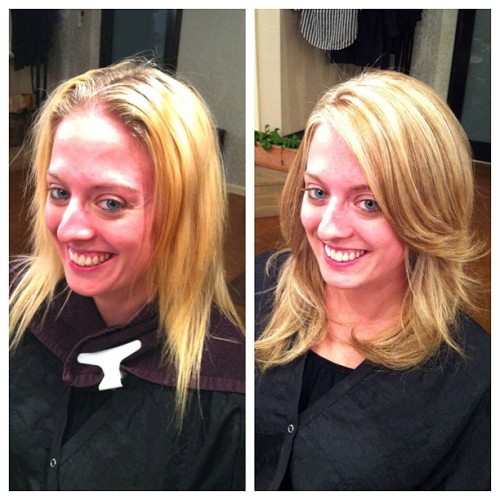 Check out Nicole's makeover! (Taken with instagram)