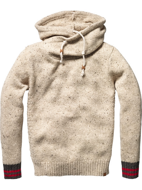 hooded pull by scotch & soda.
