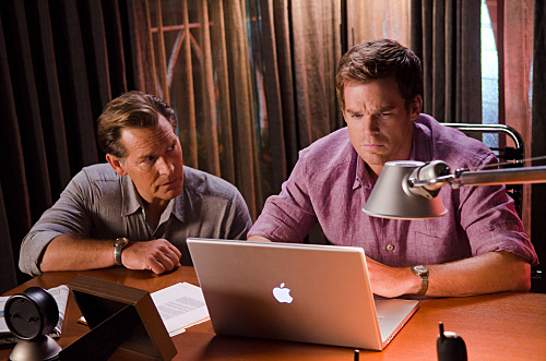 "cosmic-pt:  Dexter-S06, Episode 2 ""Once Upon A Time …"" (promo photo) Source: http://dextergr.blogspot.com"