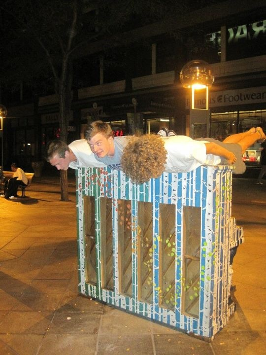 Just a normal night planking downtown on a piano. You know, because we are awesome and all that jazz.