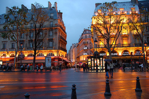 St. Michel Square - Quartier Latin, Paris  | by © Claudine Dalcourt via …| cbinanao | the-space-3etween