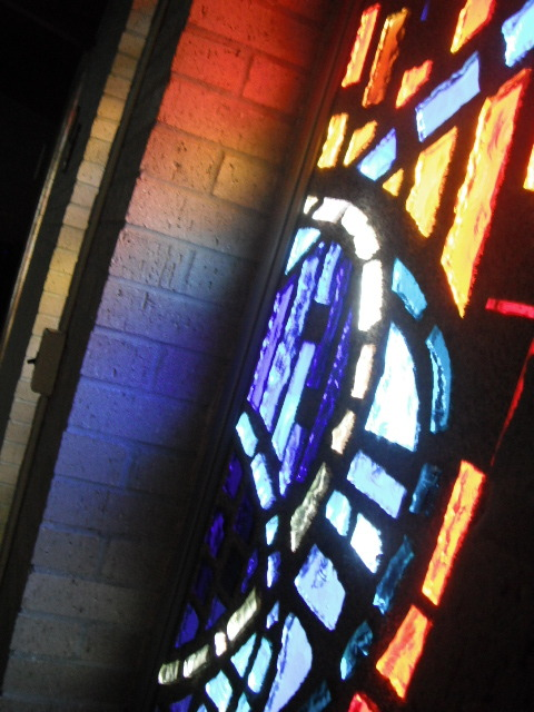 theoptimisticpessimistt:  I adore the stained glass windows in my school's chapel.