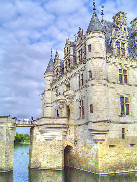Chateau de Chenonceau by Santi RF on Flickr.
