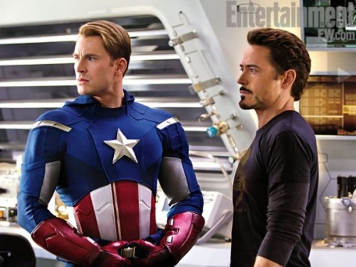 trilliumg:  miliat:  girlinthemask:  The Avengers  I like these pictures, save for it looks like Mark Ruffalo is making a duckface.  Keep forgetting about Jeremy Renner. Liked him in The Hurt Locker and The Town. Even my better half is looking forward to this movie…  Thor finally has long hair! As it should be *nods*