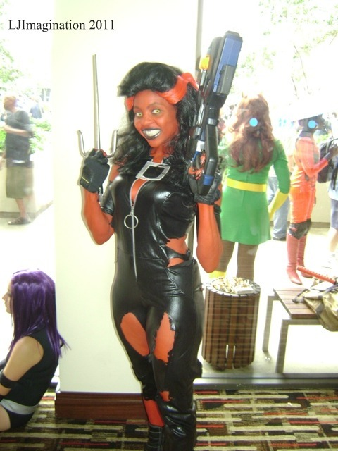 Sherita as Red She-Hulk  Photo submitted by LJImagination