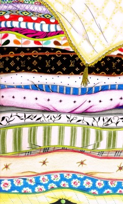 eatsleepdraw:  The Princess and the Pea (Probably one of the biggest doodles I've ever made) http://yzawuthrich.tumblr.com