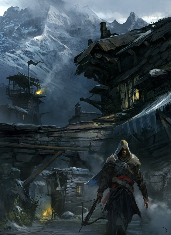 Some pretty sweet concept art from Assassin's Creed: Revelations. gamefreaksnz:  Ubisoft delays 'Assassin's Creed: Revelations' on PC, releases new trailers