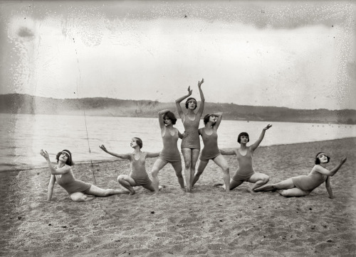 vintagegal:  The Denishawn Dancers- Louise Brooks, second from right. circa early 1920's