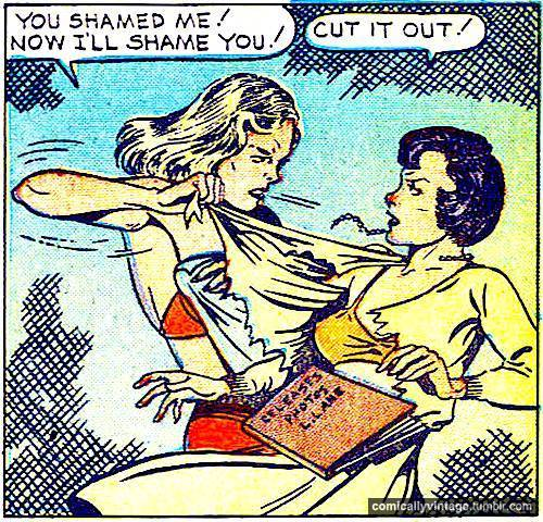 comicallyvintage:  Catfight! (Mk II)