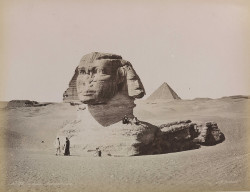 'Le Sphinx Armachis, Caire' (The Sphinx Armachis, Cairo) by National Media Museum on Flickr.