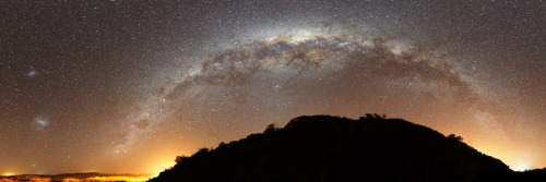 "cwnl:  Milky Way Hills ""Looking out there and seeing the milky band, you get it. That feeling you have when you realize the Universe is you. That you're looking at one in the same process. You're not something outside of it, away in some bubble. That's everything that made you."" Copyright: Luis Argerich"