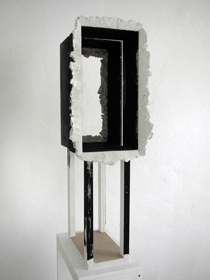 Markus Zimmermann Untitled 2011 Wood, plaster, acrylic paint 92 x 32 x 36 cm
