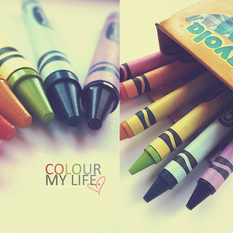my photography » crayola: an earth scientist's best friend. half my degree is practically just colouring. ♥
