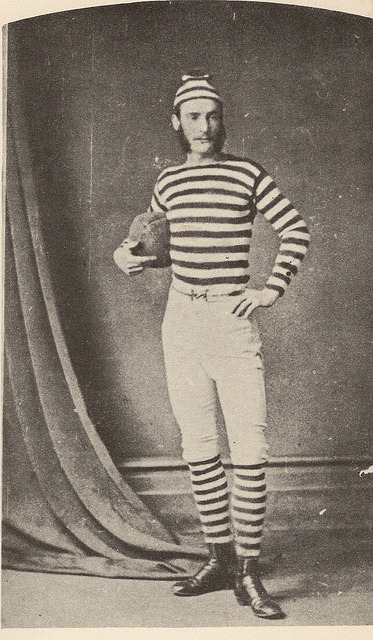 Football Player, 1870s by glen.h on Flickr.