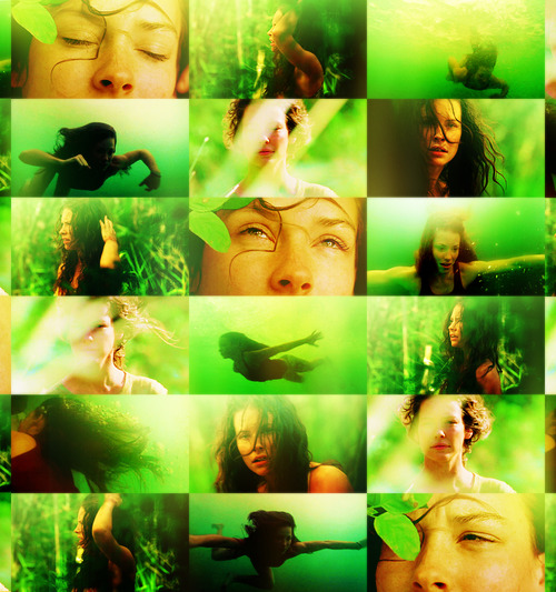 acidflashbacks:  COLOR MEME | Kate Austen; Green   ↳ asked by wandererjulia