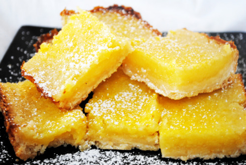 bakeddd:  easy lemon bars click here for recipe