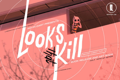 Illustrator Kevin Dart has his new Yuki 7 book for preorder titled 'Looks that Kill'. Accompanying its release is this short animated film well worth your time. See the video here. Preorder the book here.