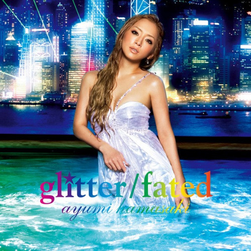 41st single by Ayumi Hamasaki - Glitter / Fated from album Guilty released on July 18, 2007 b-side: Secret both song has a one long MV titled 距愛 (Kyo Ai; Distance Love)