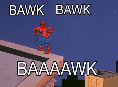 spidermanspiderman:  How Spiderman taunts his foes. Via Parushine  -