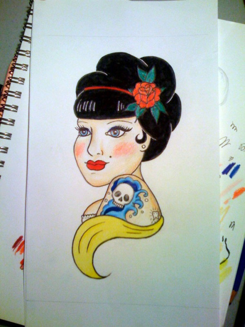 Rockabilly Snow White