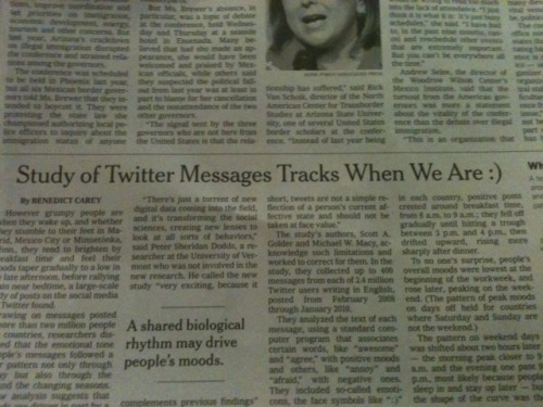 """Historic New York Times Emoticon Headline Makes it into Print"" (via The Observer)"