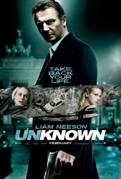 "Am about to watch this… ""Unknown"" starring Liam Neeson"