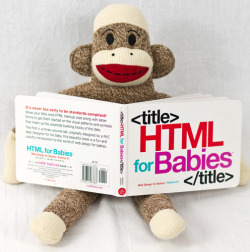 laughingsquid:  HTML for Babies, Book Introduces Web Design Concepts to Babies