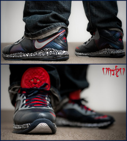 "Nike Air Max Lebron 8 v1 ""NYC"" by c4 customs on Flickr.TGIF!"