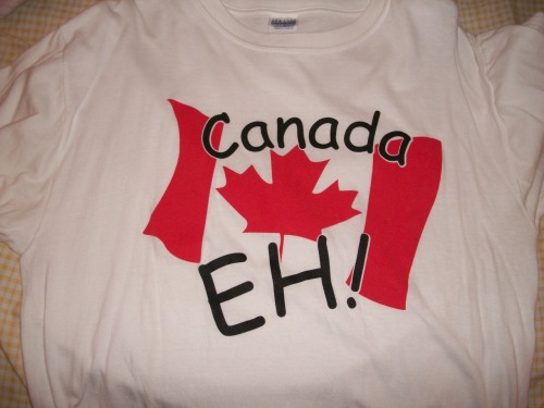 I.  Had. To.   I couldn't pass this one up.  Canada is one of if not the most beautiful places I have ever been.  I was in Cochrane, Alberta and could see the Canadian Rockies from my window.  Banff National Park is wonderful and I hope to return soon.