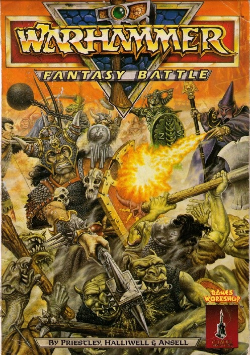 Warhammer Fantasy Battle (3rd edition). John Sibbick, 1987.