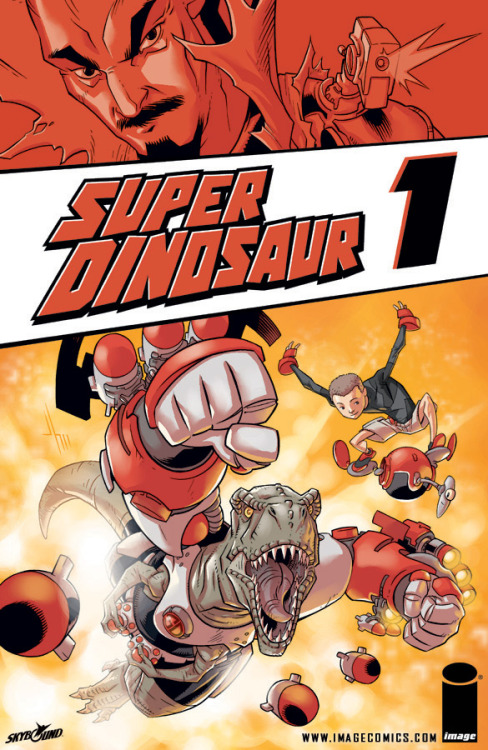 SUPER DINOSAUR gets a TRADE PAPERBACK!!!   'Super Dinosaur,' the all-ages (but mainly aimed at kids) comic book written by Robert Kirkman and illustrated by Jason Howard, is getting the trade paperback treatment.  The series, starring a boy genius and a genetically modified Tyrannosaurus Rex, was a huge success earlier this year—both from a sales and critical standpoint. 'Super Dinosaur, Vol. 1 TP' will hit shelves November 23rd.  Cover price is $9.99, and the TP will cover the first 5 issues of the series.   read on here!!!