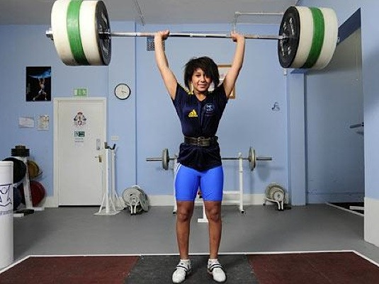 """kyssthis16:  otterfuckerz:  size10plz:  skinnyjabbers:  budgiebazooka:  Zoe Smith, gold medalist at the 2008 Commonwealth Youth Games at the age of 16.  Zoe Smith was harassed via twitter recently because some female stated she looked o manly and no guy would go for that. Here is the article. Seriously, shes an 18 year oldOlympianin lifting, and you have a problem because she's too muscular for you? wow.  Part of the article:  """"We don't lift weights in order to look hot, especially for the likes of men like that,"""" Smith wrote. """"What makes them think that we even want them to find us attractive? If you do, thanks very much, we're flattered. But if you don't, why do you really need to voice this opinion in the first place? """"Shall we stop weightlifting, amend our diet in order to completely get rid of our 'manly' muscles, and become housewives in the sheer hope that one day you will look more favorably upon us and we might actually have a shot with you? """"This may be shocking to you, but we actually would rather be attractive to people whoaren'tclosed-minded and ignorant. Crazy, eh?! We, as any woman with an ounce of self-confidence would, prefer our men to be confident enough in themselves to not feel emasculated by the fact that we aren't weak and feeble.""""   BOOM!     But…. She is hot?"""