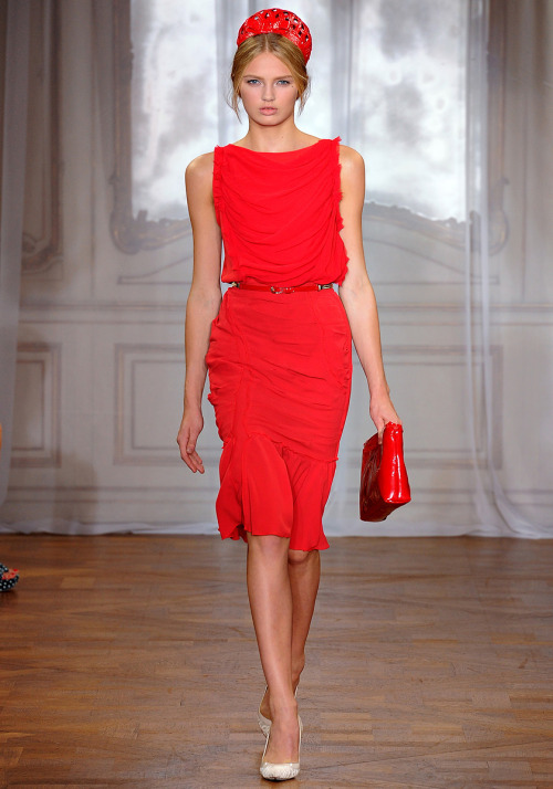 vogue:Nina Ricci Spring 2012. Photo: Monica Feudi/FeudiGuaineri.comVisit Vogue.com for the full collection and review.