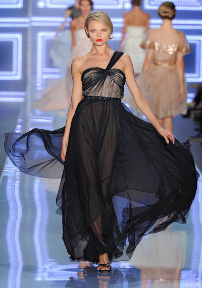 vogue:  Christian Dior Spring 2012 Photo: Yannis Vlamos/GoRunway.comVisit Vogue.com for the full collection and review.