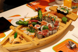 Sushi Boat by Rami ™ on Flickr.