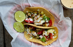 Fish Tacos  by Chez US on Flickr.